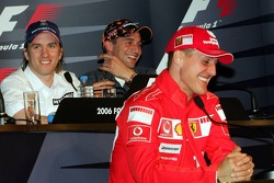 Thursday FIA press conference: Nick Heidfeld, Christijan Albers and Michael Schumacher