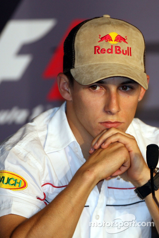 Conférence de presse de la FIA le jeudi: Christian Klien