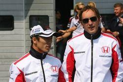 Takuma Sato ve Franck Montagny