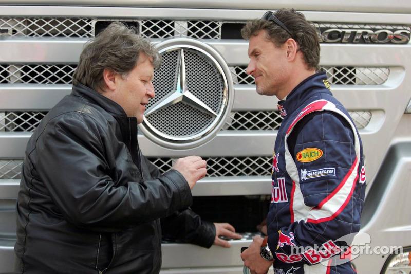 Norbert Haug y David Coulthard