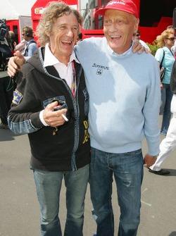 Arturo Merzario qui a sauvé la vie de Niki Lauda après son accident sur le Nordschleife en 1976