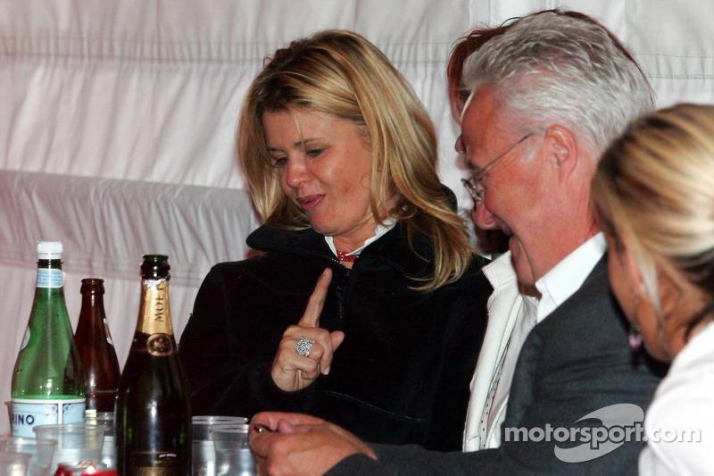 Corina Schumacher et Rolf Schumacher