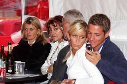 Corina Schumacher, Barbara Stahl, Rolf Schumacher, Sebastian Stahl and his girlfriend Sarah