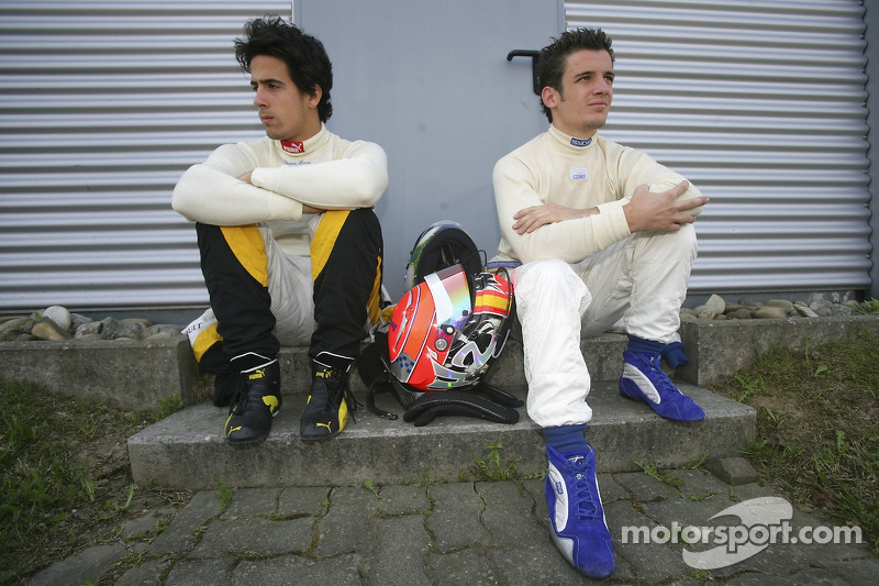 Lucas Di Grassi et Sergio Hernandez