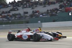 Lewis Hamilton passes Nicolas Lapierre