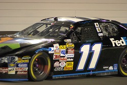 Denny Hamlin is local to Richmond and had the fans on his side