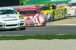 Race action at Turn 11