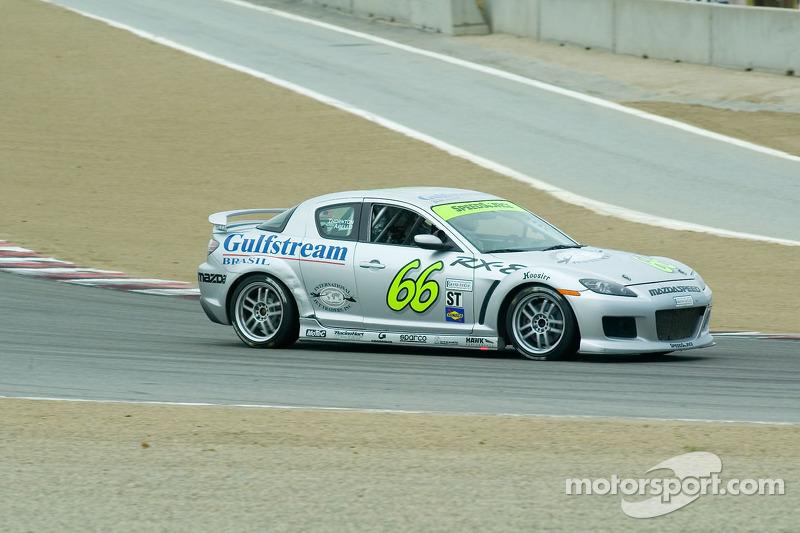 #66 SpeedSource Mazda RX-8: Marcelo Abello, Jep Thornton, Jeff Altenburg