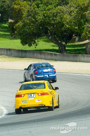 #187 i-MOTO Racing Acura TSX: Lee Niffenegger, Tom Long