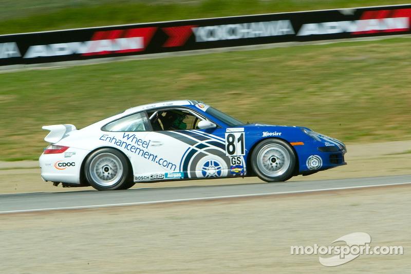 #81 Synergy Racing Porsche 997: Brent Martini, Patrick Long