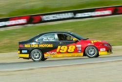 #198 Stewart Motorsports Acura TSX: Tom Stewart, Neal Sapp, Payton Wilson