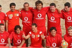 Vodafone Ferrari Beach Soccer Challenge: Michael Schumacher