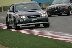 #93 GOTO Racing Subaru Legacy: Chris Lock, Brian Lock, Steve Lock