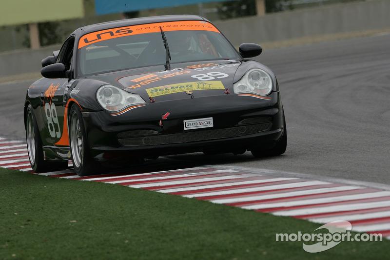 #89 Knobel Racing/ LNS Motorsports Porsche 996: Derek Sabol, Frank Rossi
