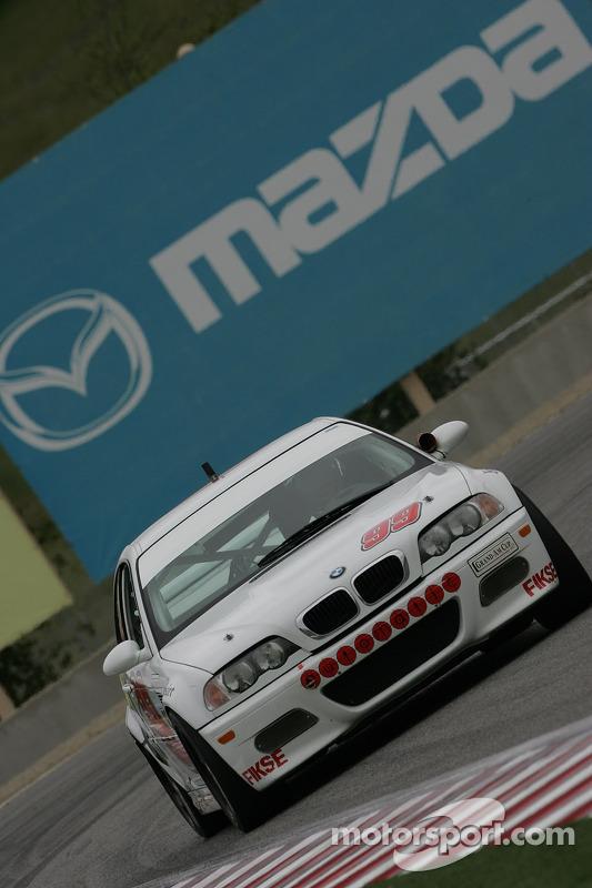 #99 Automatic Racing BMW M3: David Riddle, Kris Wilson