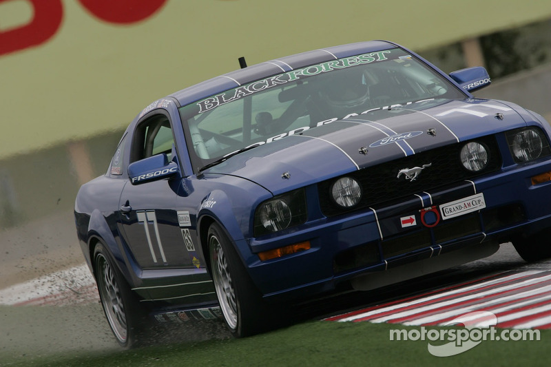 #77 Blackforest Motorsports Mustang GT: Jim Bosler, James Gue