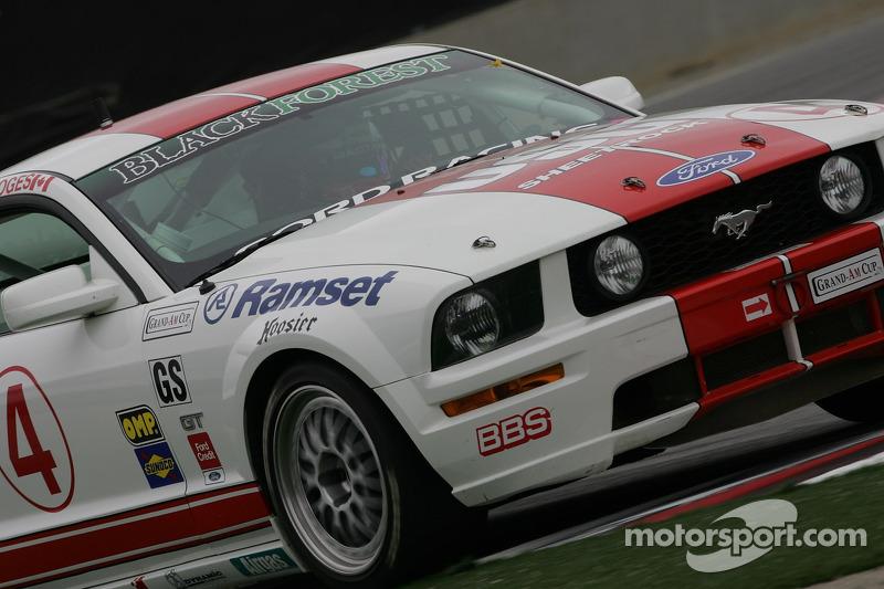 #4 Blackforest Motorsports Mustang GT: Vaérie Limoges, David Empringham