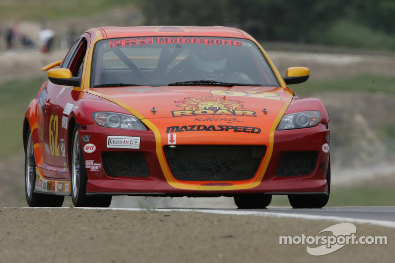 #62 Roar Racing Mazda RX-8: Rob Whitener III, Robert Deinerd, Nick Gurucharri