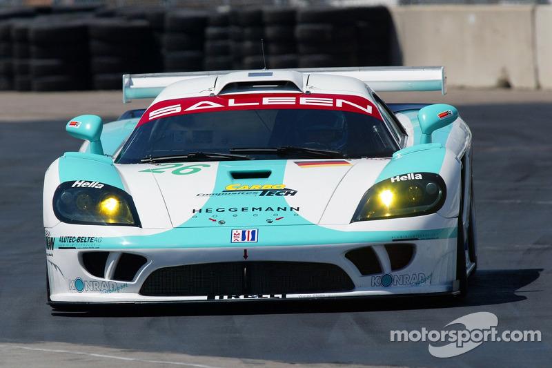#26 Konrad Motorsports Saleen S7R: Paolo Ruberti, Tom Weickardt