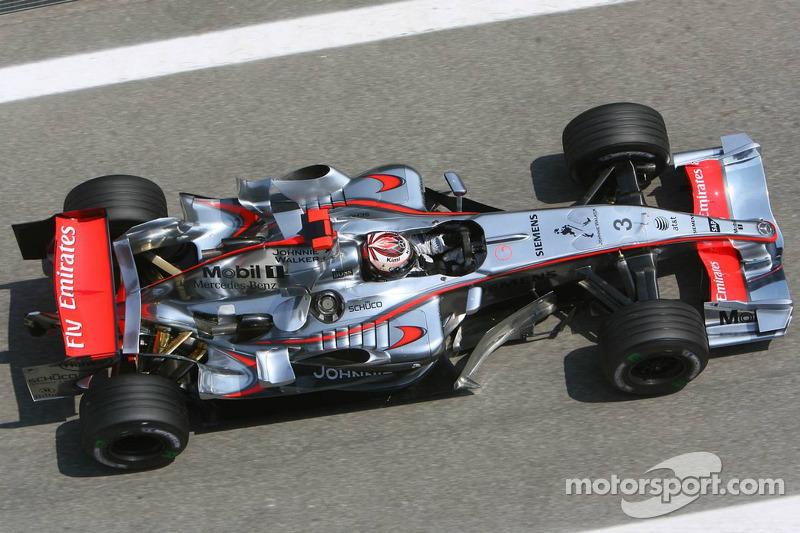 McLaren MP4-21, à moteur Mercedes (2006)