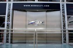 Le mur des interview du Red Bull Energy Station