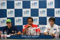 Lewis Hamilton en pole postion, avec Nelson A. Piquet