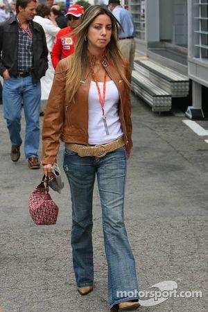 Rafaela Bassi la petite amie de Felipe Massa