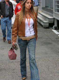Rafaela Bassi girlfriend of Felipe Massa