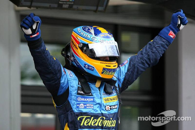 Fernando Alonso, Renault, en 2006