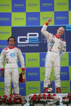 Alexandre Premat premier, Lewis Hamilton deuxième