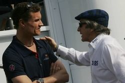 David Coulthard et Sir Jackie Stewart