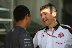 Nick Fry et Juan Pablo Montoya