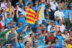 Des fans dans la foule