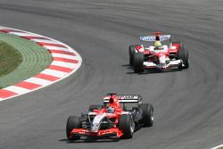 Christijan Albers devant Ralf Schumacher