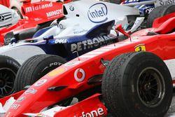 Felipe Massa's car after the race