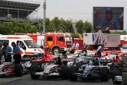 Parc Fermé after the race