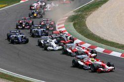Start: Ralf Schumacher