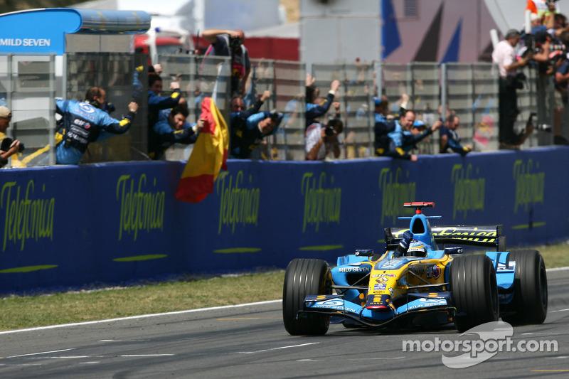 Fernando Alonso, 2 veces ganador del GP de España