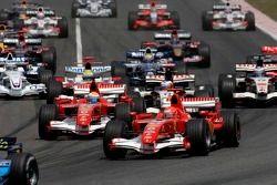 Départ : Michael Schumacher