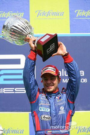 Ernesto Viso le vainqueur de la course