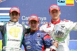 Ernesto Viso premier, Nelson A. Piquet deuxième, Alexandre Premat troisième