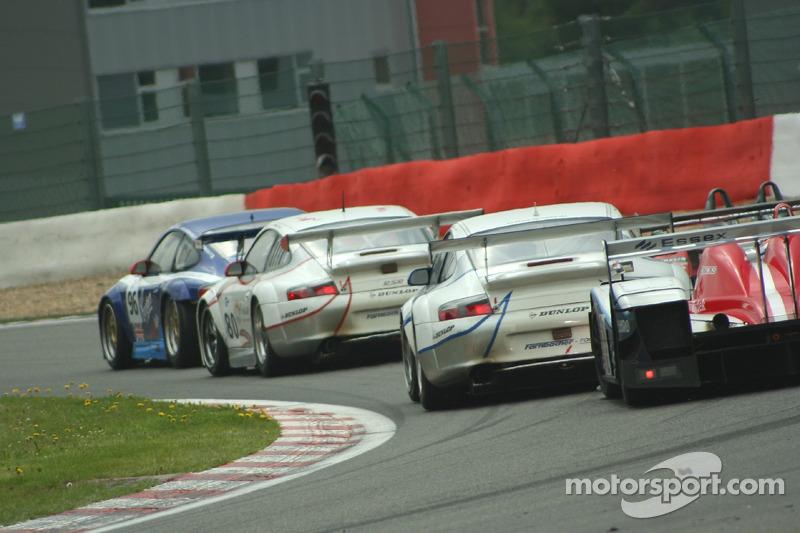 #90 Farnbacher Racing Porsche 996 GT3 RSR: Pierre Ehret, Dominik Farnbacher