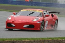 #33 JMB Racing Ferrari Ferrari 430 Challenge: Philippe Rambeaud, Nicolas Comar