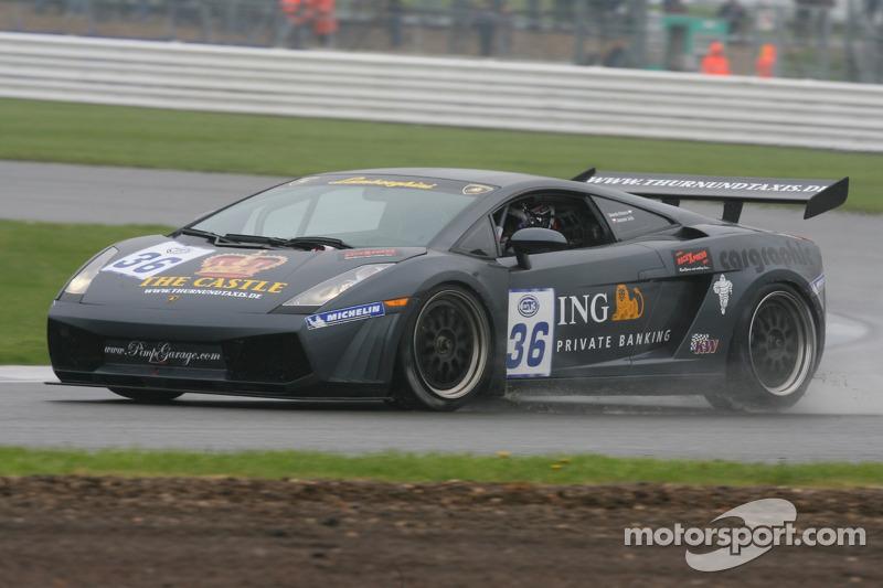 #36 S-Berg Racing Lamborghini Gallardo GT3: Dennis Retera, Jaromir Jirik