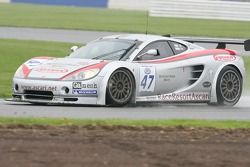 #47 Damax Ascari KZ1R: Luca Pirri, Stuart Turvey