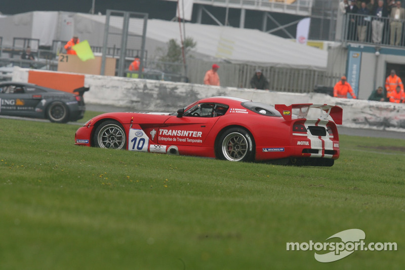 #10 Racing Logistic Dodge Viper Coupe: Patrick Bornhauser, Jean-Luc Blanchemain