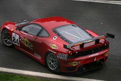 #84 Team Icer Brakes Ferrari F430 GT: Jesus Diez Villarroel est sorti au premier tour