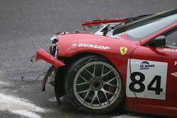 #84 Team Icer Brakes Ferrari F430 GT: Jesus Diez Villarroel