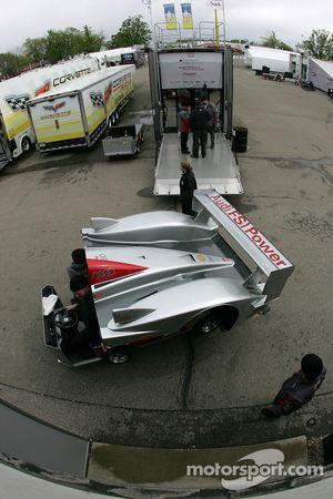 L'équipe Audi Sport North America déballe