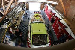 Garage de l'équipe Petersen/White Lightning